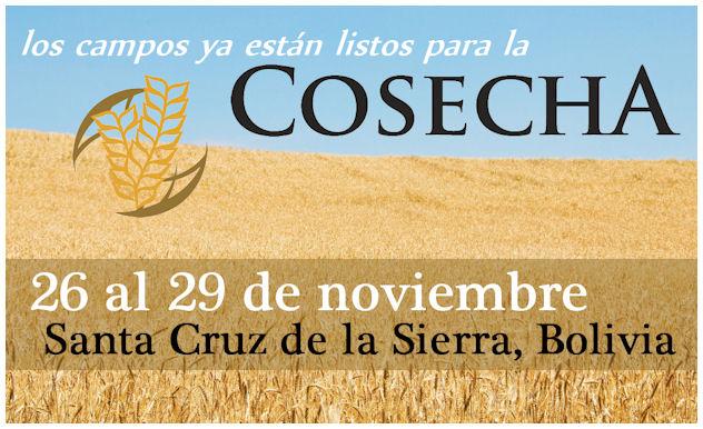 Cosecha | 26 al 29 de noviembre 2014 | Santa Cruz de la Sierra, Bolivia