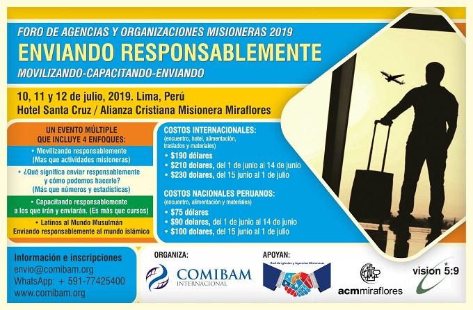 Foro de Agencias y Organizaciones Misioneras 2019